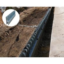 小段排水溝/縦排水溝/桝かさ上げ工法『EZメタルウォール』 製品画像