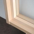 ハウジングパーツ『木製室内窓 FIX/2列2段』 製品画像