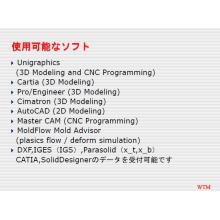 使用可能なソフト一覧 製品画像