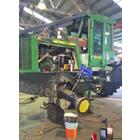 ポータブル加工機の活用事例『各種車両系建設機械』 製品画像