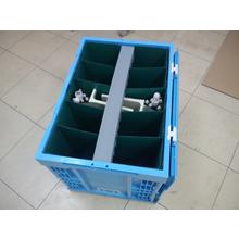 【包装設計の改善事例】ノズルエアホース用の通い箱 製品画像