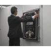 屋外用広告バナー装置『3連スライドバナー』 製品画像