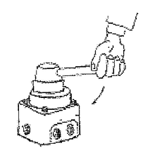 【空気・配管基本知識】方向制御弁の切り換え操作 製品画像