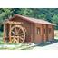 【設置事例】水車小屋/水車単体 製品画像