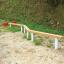 木製遊具 丸太ステップ平均台 W-103 製品画像