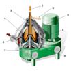 ビール製造工程用遠心分離機 製品画像