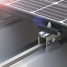 【太陽光架台】アルミ・シリーズ『D-FOURSハゼ式折版 AL』 製品画像