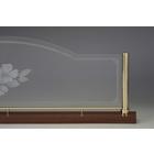 スクリーンポール38 AP パーテーション 間仕切り 真鍮金物 製品画像