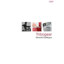 トライボギア総合カタログ 2020 製品画像
