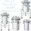 ステンレスフランジオープン加圧容器【PCN-O】シリーズ 製品画像