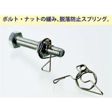 ナットのゆるみ止め・脱落防止金具『インスタントロック』 製品画像