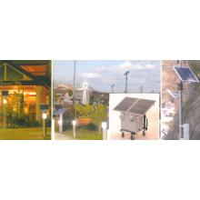 ソーラーライティングシステム/ソーラー発電付ポータブル蓄電池 製品画像