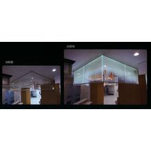 ガラス導光板『光る防煙垂れ壁』 製品画像