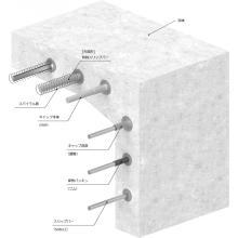 止水製品『防蝕スリップバー(構造物継手用スリップバー)』 製品画像