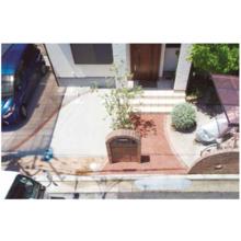 研磨仕上げ『Eco Kawara 透水性テラゾー舗装』 製品画像