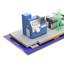 短工期/低コストな生産設備用 ユニット型免震装置:オイレス工業 製品画像