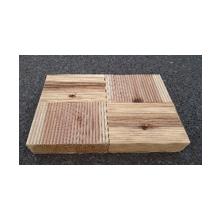 木製のレンガ『もくれんが パネル』 製品画像