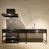 ブラックフレームキッチン(I型/2550プラン) 製品画像