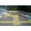 【コンクリート製舗装材】『誘導・警告用平板』 製品画像