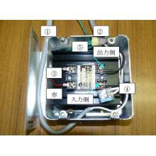 【電子リレーの配線方法】 床暖房 暖どりーむ 製品画像