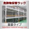 危険物貯蔵専用棚※重量タイプ、パレット保管に! 製品画像