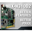 【AAEON】MIX-H310D2 製品画像