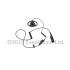 【外れにくいD型イヤホン】イヤホンマイク PMLN6757 製品画像