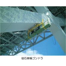 【橋梁へのトータルアクセスを実現】橋梁工事用ゴンドラ 製品画像