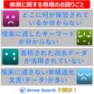 こんな時にArrow Searchが選ばれる!お客様の4つの課題 製品画像