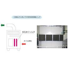 【応用例】工場などにおいての空気清浄機 製品画像