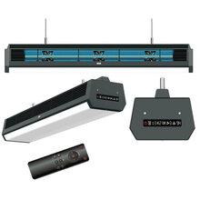 UVC 空気循環型ファン付き紫外線空間殺菌用天井吊り下げライト 製品画像
