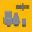 【焼結金属フィルター用途事例】空圧機器用サイレンサー 製品画像