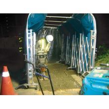 【NETIS登録商品】「移動式防音ゲート」 製品画像