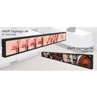 バナー型液晶ディスプレイ『シェルフサイネージ』 製品画像