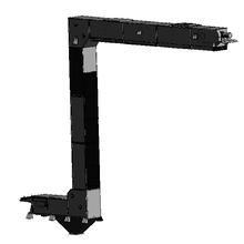【新製品】常時上向きタイプのピボットコンベア(バケットコンベア) 製品画像