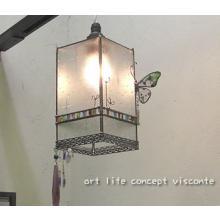 ランプ 蝶とビーズのランプ VP 027 製品画像