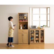 食器収納(組み立て式食器棚) 製品画像