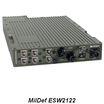 MilDef社 堅牢1Uスイッチ ESW2100シリーズ 製品画像