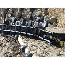 【ポリエチレン製U字溝 活用事例紹介】災害復旧用の仮設水路  製品画像