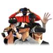360°映像一斉再生システム『idogaVR ALLSTART』 製品画像