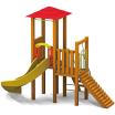 木製遊具 プレイコンポ505 PC-505 製品画像