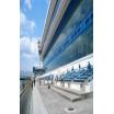 遮熱対策・地震発生時のガラス飛散対策事例:常滑市協競艇場 製品画像