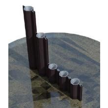 斜面防災用等簡易土留め/乾燥抑止用遮水壁『パイプウォール工法』 製品画像