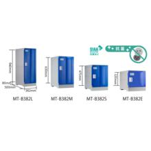 抗菌仕様プラスチックロッカー MT-B382シリーズ 製品画像