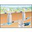 下水管の水流を手軽に止める止水器具【※下水道管維持管理に好適!】 製品画像
