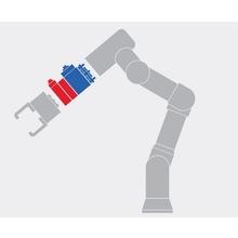 ロボットアームをホース・ケーブルレスでコンパクトに多機能化! 製品画像