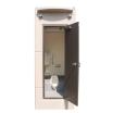 公衆トイレ『OK式 スリムトイレ』 製品画像
