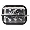 トラック用平面ミラー丸棒タイプ「FB-18CU」角型 ウロコ 製品画像