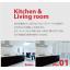 【ジップレールスクリーン施工事例】キッチン・リビング 製品画像