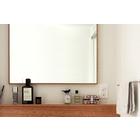 サイズオーダー可能、シンプルなデザイン『ラワンの洗面ミラー』 製品画像